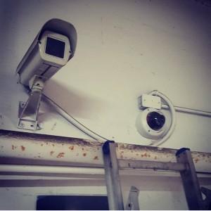 Old school vs new school (Hikvision TVI TURBO HD vandal proof dome camera)