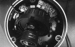 Analog dome camera 900 TVL